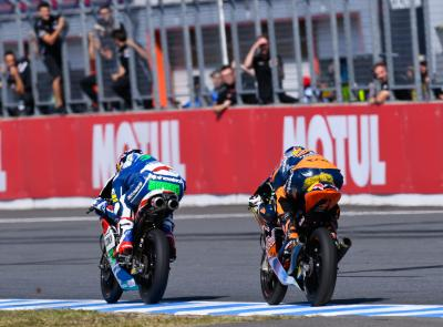 Bastianini bat Binder in extremis au Japon