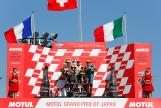 Thomas Luthi, Johann Zarco, Franco Morbidelli, Motul Grand Prix of Japan