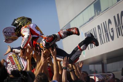 Marc Márquez - Champion du Monde MotoGP™ 2016