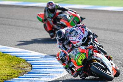 Bautista's P7 the best yet for Aprilia