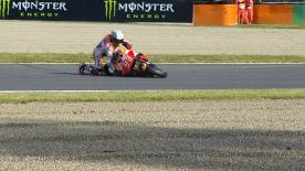 A detailed look at the cause and effect of the noteworthy crashes of the #JapaneseGP.