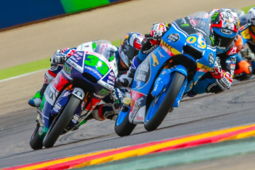 Jorge Navarro, Estrella Galicia 0,0, Enea Bastianini, Gresini Racing Moto3