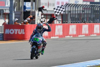 Bastianini back on top with photo-finish