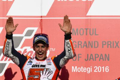 Marc Marquez: Championship number 5 in pictures