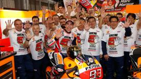 Dylan Gray looks back on a #JapaneseGP that saw Marc Marquez crowned MotoGP™ world champion and Yamaha endure misery at Motegi