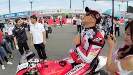 Go behind the scenes with Takaaki Nakagami at the #JapaneseGP, filmed exclusively on GoPro™ cameras