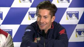 Nicky Hayden joked he is just a