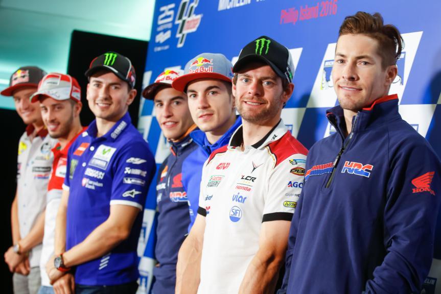 Press conference Michelin® Australian Motorcycle Grand Prix