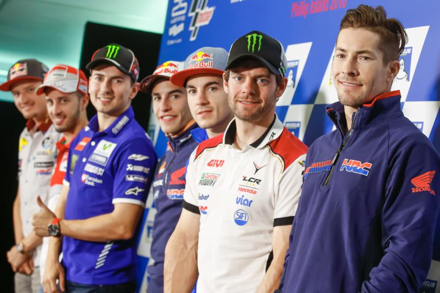 Press conference Michelin® Australian Motorcycle Grand Prix