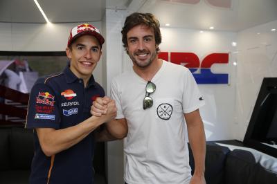 Alonso: «Márquez va camino de superar todos los récords»