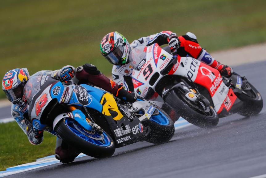 Danilo Petrucci, Jack Miller, Michelin® Australian Motorcycle Grand Prix