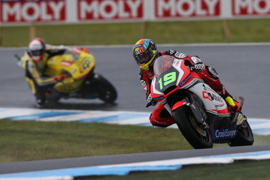 Xavier Simeon, QMMF Racing Team, Michelin® Australian Motorcycle Grand Prix
