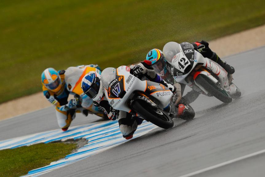 John Mcphee, Peugeot MC Saxoprint and Marcos Ramirez, Platinum Bay Real Estate, Michelin® Australian Motorcycle Grand Prix