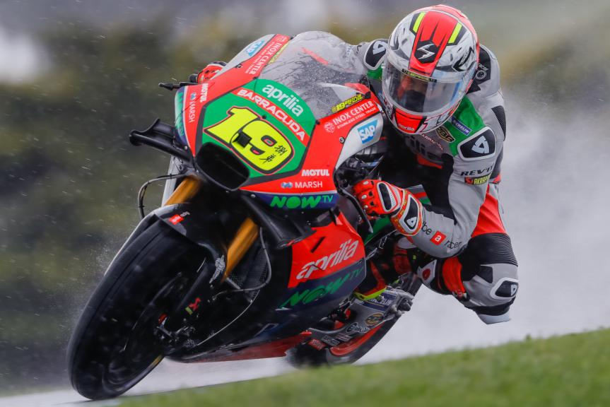 Alvaro Bautista, Aprilia Racing Team Gresini, Michelin® Australian Motorcycle Grand Prix
