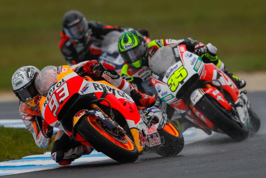 Marc Marquez, Cal Crutchlow, Michelin® Australian Motorcycle Grand Prix