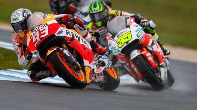 #AustralianGP: MotoGP™ Free Practice in slow motion