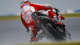 Find out about the basics of wet set-up as riders adapt to challenging conditions at Phillip Island