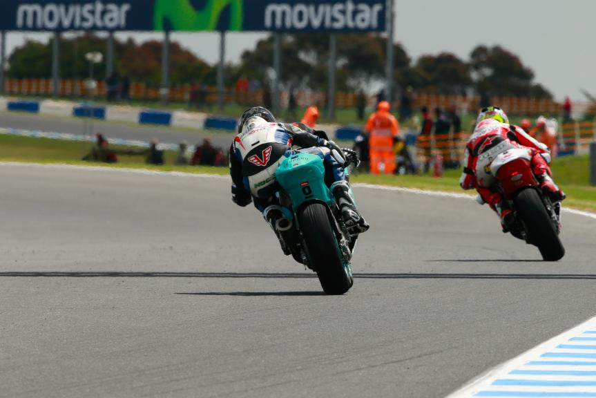 Alessandro Nocco, Leopard Racing and Ratthapark Wilairot, IDEMITSU Honda Team Asia, Michelin® Australian Motorcycle Grand Prix