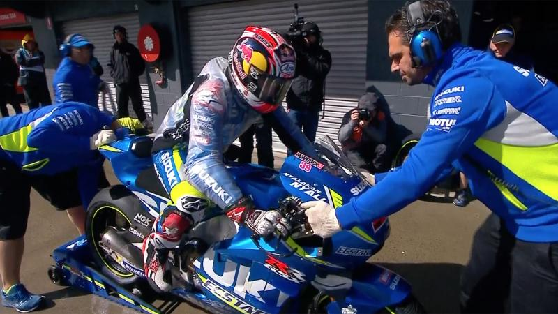 Q1 Crutchlow And Lorenzo Through As Rossi Left In 15th Motogp
