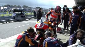 The second Qualifying session of the MotoGP™ World Championship at the #AustralianGP.