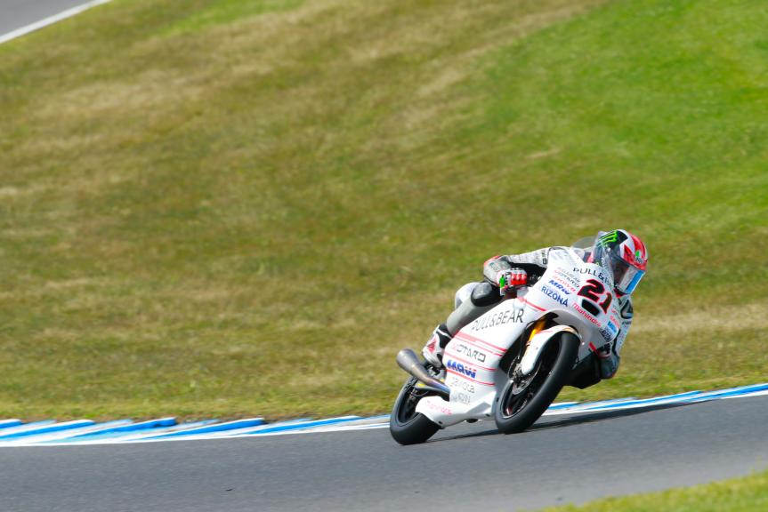 Francesco Bagnaia, ASPAR Mahindra Team Moto3, Michelin® Australian Motorcycle Grand Prix