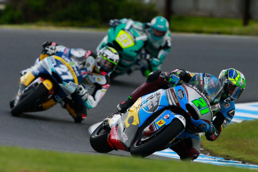 Franco Morbidelli, Estrella Galicia 0,0 Marc VDS and Iker Lecuona, CarXpert Interwetten, Michelin® Australian Motorcycle Grand Prix