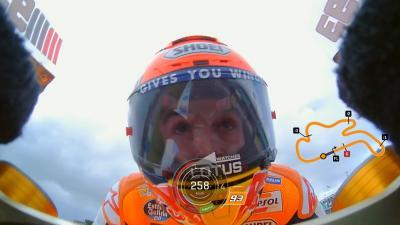 Qualifiche OnBoard con Marquez
