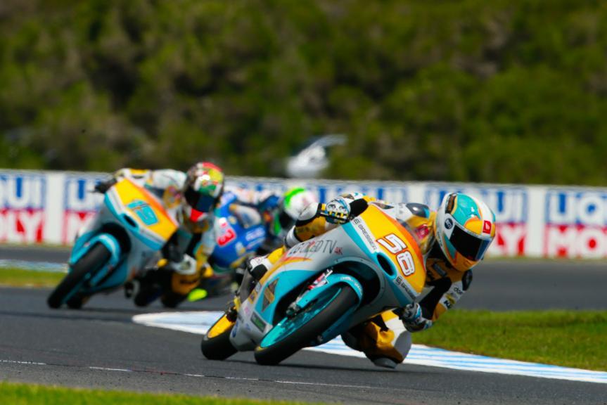 Juanfran Guevara, RBA Racing Team, Michelin® Australian Motorcycle Grand Prix