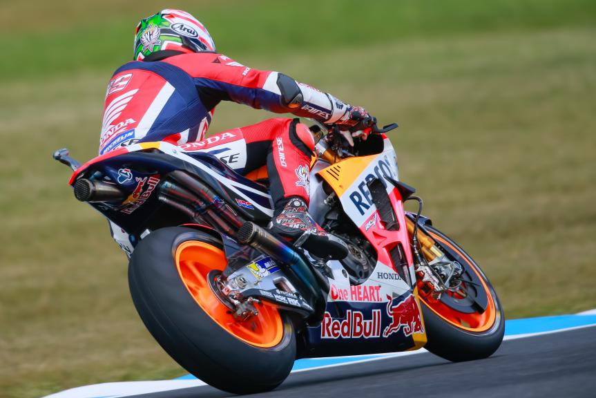 Nicky Hayden, Repsol Honda Team, Michelin® Australian Motorcycle Grand Prix