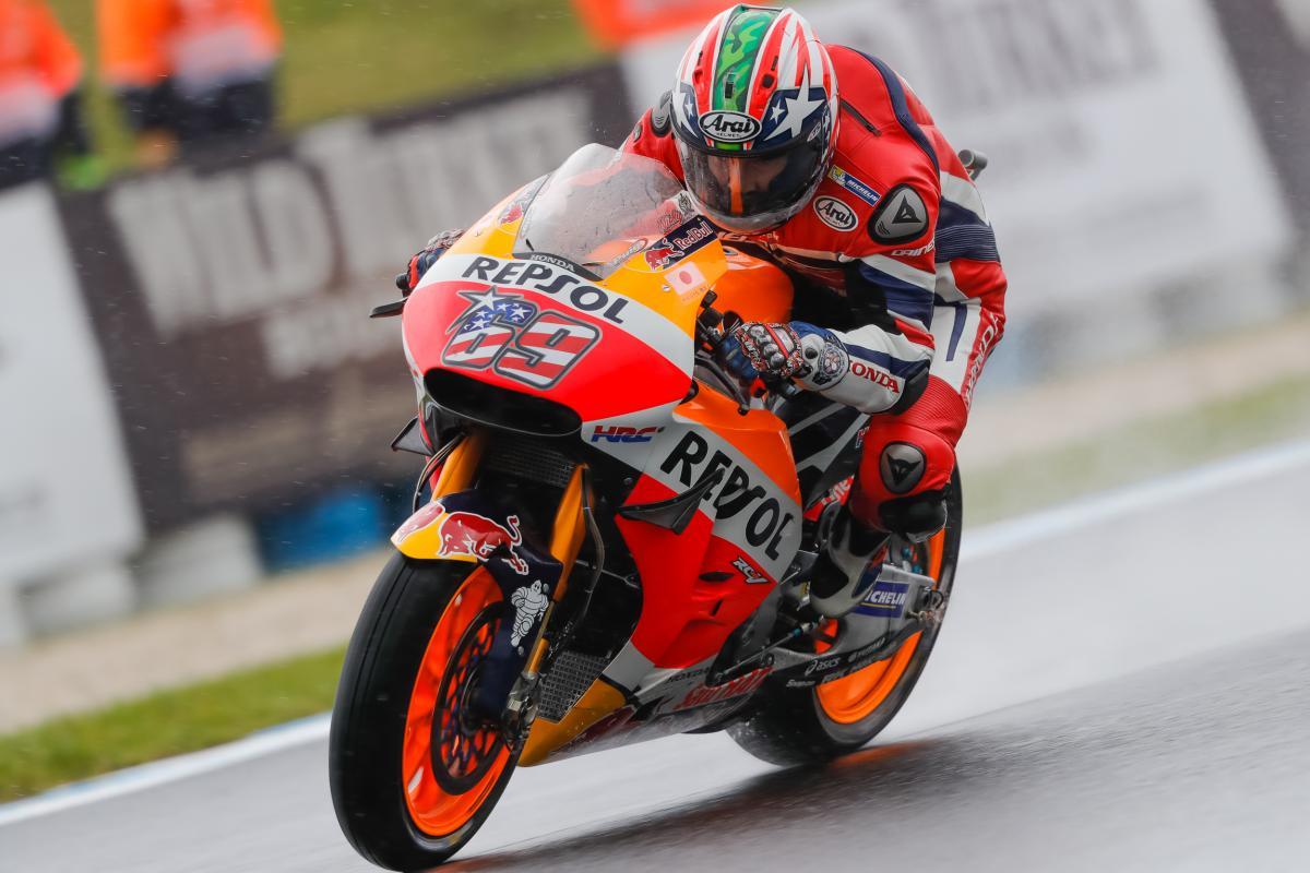 Hayden top in another interrupted FP4 | MotoGP™