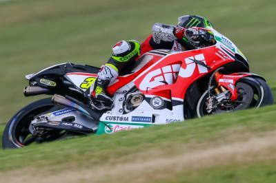 Crutchlow und Rossi schaffen Sprung in Q2