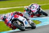 Andrea Dovizioso, Ducati Team and Danilo Petrucci, OCTO Pramac Yakhnich, Michelin® Australian Motorcycle Grand Prix
