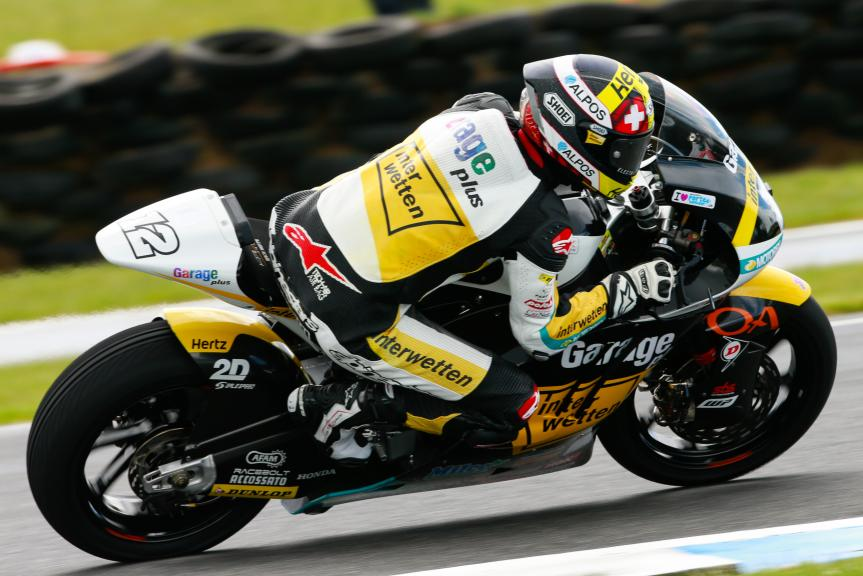Thomas Luthi, Garage Plus Interwetten, Michelin® Australian Motorcycle Grand Prix