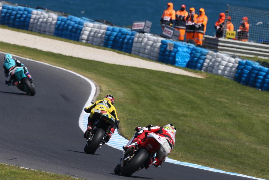 Ratthapark Wilairot, IDEMITSU Honda Team Asia and Edgar Pons, Paginas Amarillas HP 40, Michelin® Australian Motorcycle Grand Prix