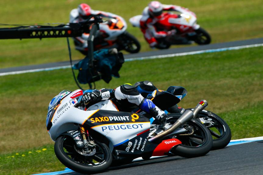 John Mcphee, Peugeot MC Saxoprint, Michelin® Australian Motorcycle Grand Prix