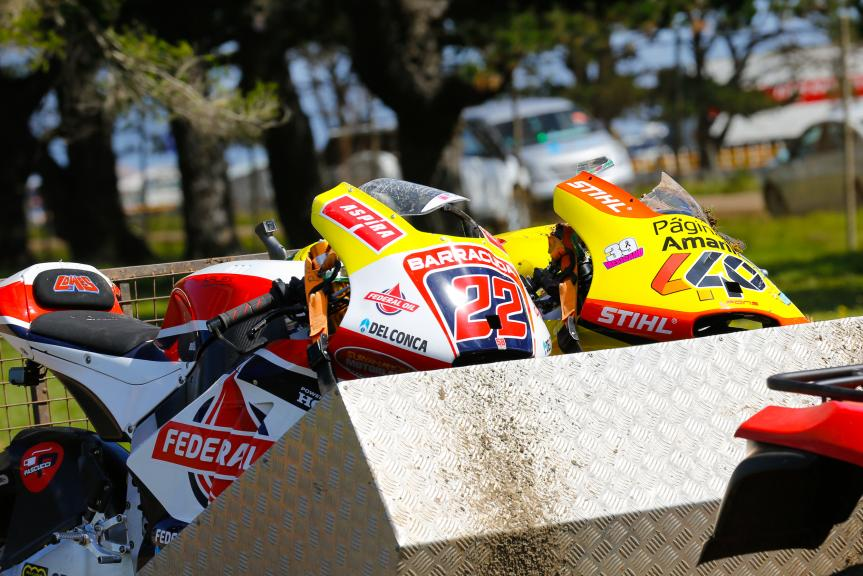 Sam Lowes, Federal Oil Gresini Moto2 and Alex Rins, Paginas Amarillas HP 40, Michelin® Australian Motorcycle Grand Prix