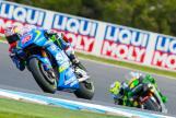 Pol Espargaro, Monster Yamaha Tech 3 and Maverick Viñales, Team SUZUKI ECSTAR, Michelin® Australian Motorcycle Grand Prix