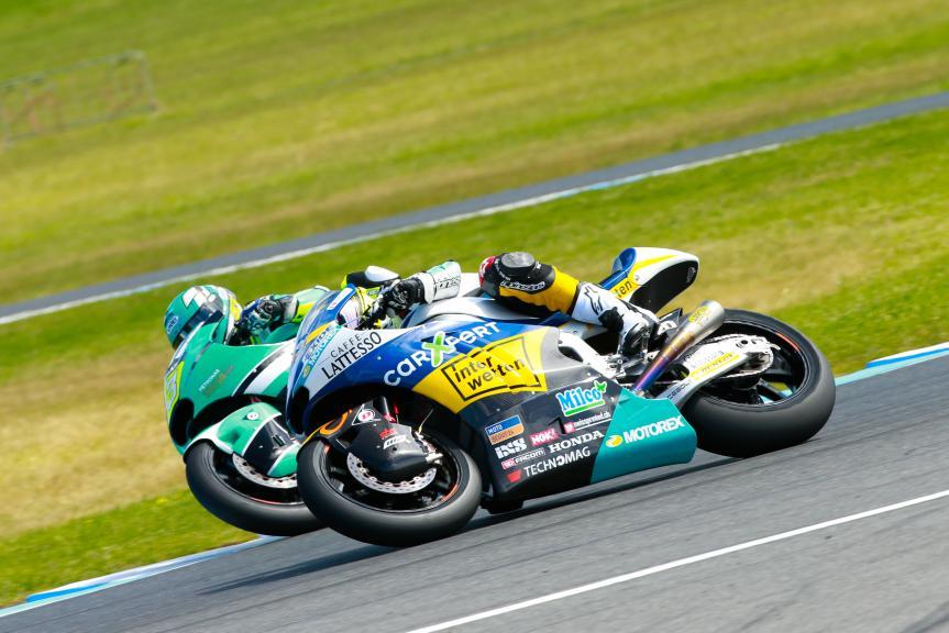 Iker Lecuona, CarXpert Interwetten and Ramdam Rosli, Petronas Ahm Malaysia, Michelin® Australian Motorcycle Grand Prix