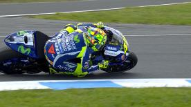 Valentino Rossi reflects on a brilliant performance that saw him take second place in Australia after starting fifteenth on the grid