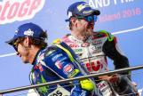 Cal Crutchlow, LCR Honda and Valentino Rossi, Movistar Yamaha MotoGP, Michelin® Australian Motorcycle Grand Prix