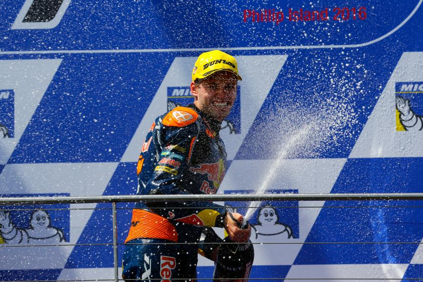Brad Binder, Red Bull KTM Ajo, Michelin® Australian Motorcycle Grand Prix