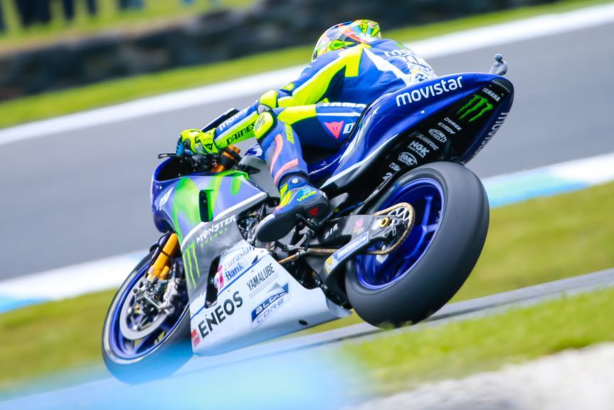 Valentino Rossi, Movistar Yamaha MotoGrand Prix, Michelin® Australian Motorcycle Grand Prix