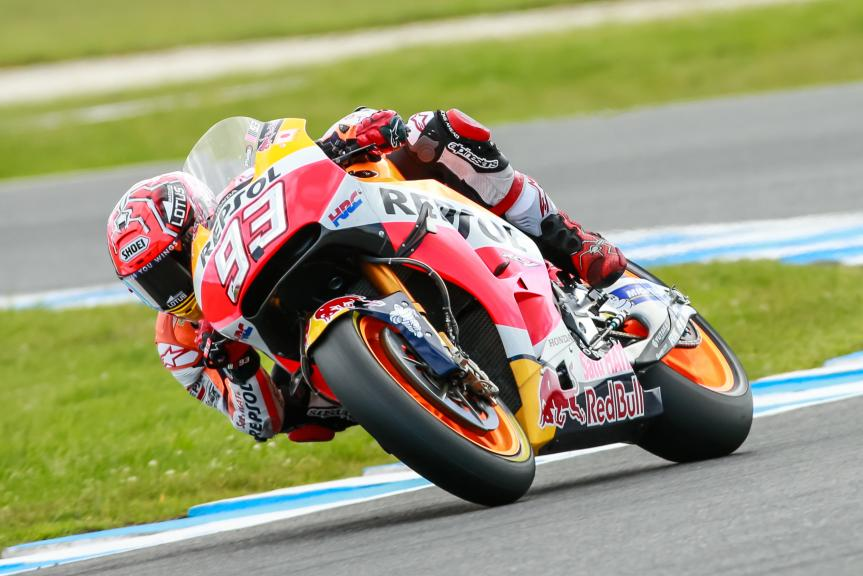 Marc Marquez, Repsol Honda Team, Michelin® Australian Motorcycle Grand Prix
