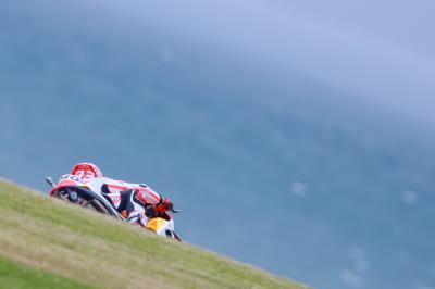 Warm-up MotoGP™ : Márquez devant Rossi