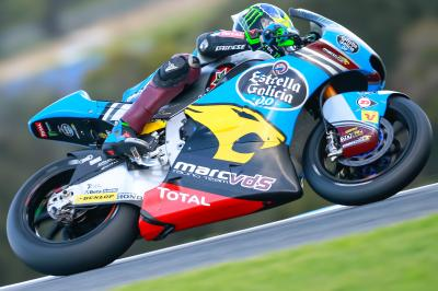 Morbidelli fastest on Sunday morning