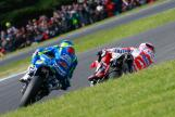Andrea Dovizioso, Ducati Team and Aleix Espargaro, Team SUZUKI ECSTAR, Michelin® Australian Motorcycle Grand Prix