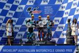 Brad Binder, Andrea Locatelli, Aron Canet, Michelin® Australian Motorcycle Grand Prix