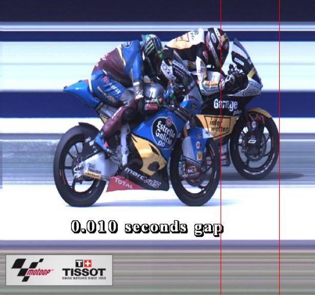 Photofinish, Moto2, Michelin® Australian Motorcycle Grand Prix