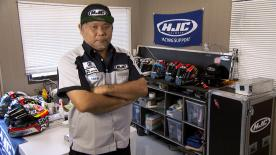 motogp.com has been following Tommy Hasegawa from HJC Racing Support during the #AustralianGP