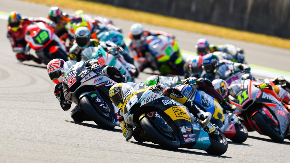 The dark horse: Lüthi closes in on Zarco | MotoGP™